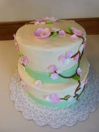 baby shower cake with pink and white flowers cakecentral com