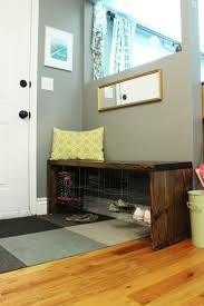 Small Bench With Shoe Storage by Diy Industrial Entry Shoe Bench