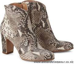 womens ankle boots nz cheap enrico antinori python ankle boots brown medium i7jl