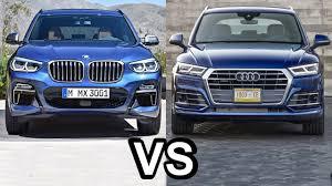 q5 vs bmw x3 2018 bmw x3 vs 2018 audi q5