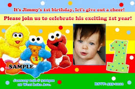 free printable sesame street birthday invitations dolanpedia
