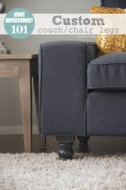 Sofa Legs Ikea by Home Improvement Custom Couch Or Arm Chair Legs Give Your