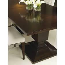 baker street dining table baker dining table baker furniture block dining table 7891 thomas