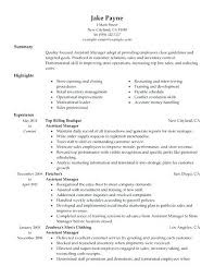 Resume For Grocery Store Retail Assistant Manager Resume Sample Create My Resume Grocery