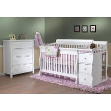 White Crib And Changing Table Sorelle Tuscany 4 In 1 Convertible Crib And Changing Table Target