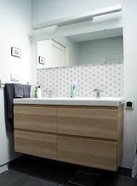 Ikea Bathroom Mirrors Uk 123kea Badkamerbehang Kitchenwalls Ster Lichtgrijs Ikea Godmorgon Jpg