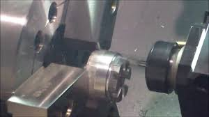 cnc lathe demo hwacheon hitech 200 with live tooling youtube