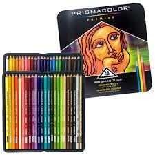 prismacolor pencils prismacolor 48 colored pencils premier soft color pencil