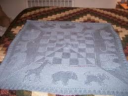 free pattern knit baby blanket animal afghan