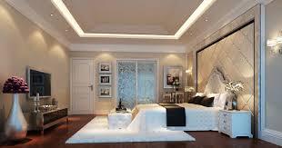 modern minimalist style bedroom with glass door interior design