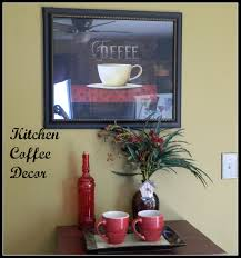 Coffee Decorations Extraordinary 25 Cafe Decorations For Kitchen Decorating