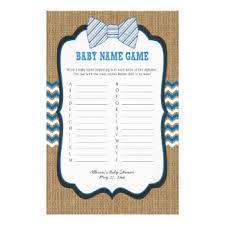 baby showergames boy baby shower flyers programs zazzle