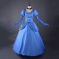 Ball Gown Halloween Costumes Cheap Womens Cinderella Costume Aliexpress