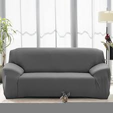 slipcovers for leather sofa and loveseat amazon com stretch seat chair covers couch slipcover sofa loveseat