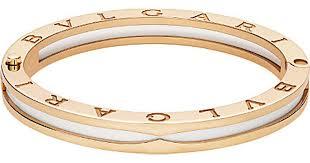 ceramic bracelet images Lyst bvlgari b zero1 18ct pink gold and white ceramic bracelet jpeg