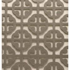 Decorative Radiator Covers Home Depot M D Building Products 1 Ft X 2 Ft Satin Nickel Mosaic Aluminum