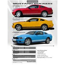 mustang decals ford mustang decals stickers 05 09 wildstang 2 3m fastcaraccessories
