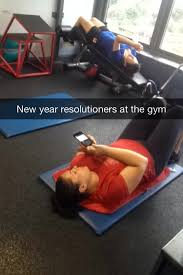 New Years Gym Meme - new years resolutioners at the gym meme guy