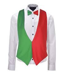 Italain Flag Italian Flag Backless Waistcoat U0026 Bow Tie Set Italy 6 Nations