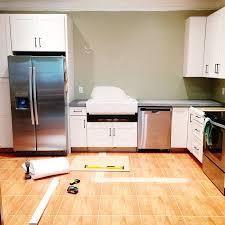 Dishwasher Enclosure Retrofitting A Cabinet For A Farm House Sink Bower Power