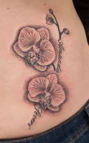 41 best orchid tattoos images on pinterest small 3d tattoos