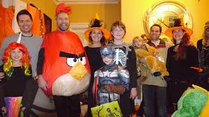 Angry Birds Halloween Costume Tom Mulcair U0027s Angry Bird Halloween Costume Stands