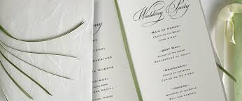 programs for wedding ceremony wedding programs do it yourself wedding programs