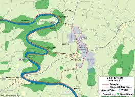 Washington Ferry Map The C U0026o Canal Bicycling Guide Mile 70 Thru 82