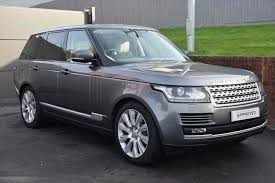 dark silver range rover used cars in stock at listers land rover for sale