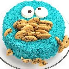 easy cookie monster cake boyscout cake pinterest cookie