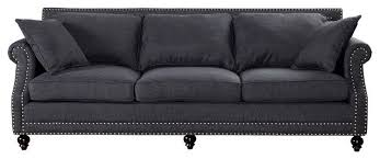 Traditional Sofa Camden Linen Sofa Traditional Sofas By Tov Furniture