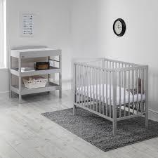 east coast carolina space saving cot grey with mattress kiddicare com