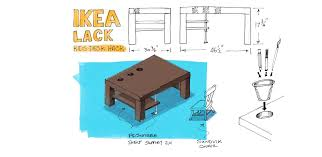 diy kids desk from ikea coffee table u2013 noteworthy u2014 the journal blog