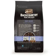 amazon com merrick backcountry grain free raw infused puppy dry