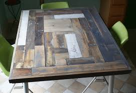 making a wood table top how to resurface a table with reclaimed wood