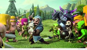 wallpaper coc keren for android clash of clans wallpapers high quality download free