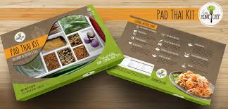 home design company in thailand modern elegant packaging design for easy home chef by