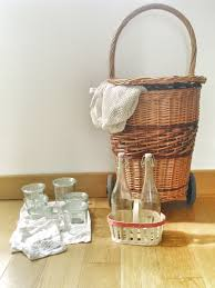 Small Waste Basket by Plastic Free Zero Waste Shopping Kit For Paris Weck Jars Four