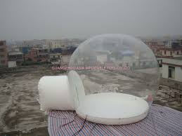 Bubble Tent Inflatable Snow Globe Bubble Tent For Exhibition
