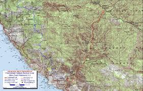 Great Loop Map Cruickshank Salmon Buckeye Loop Trail Silver Peak Wilderness