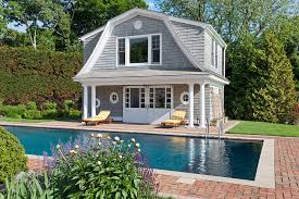 2 story house with pool pool house windmill seatuck lodge