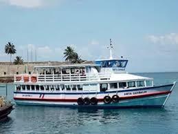 travessia pelo ferry boat e lanchas tem movimento tranquilo nesta