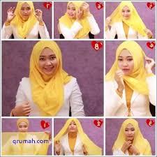 tutorial hijab segitiga paris simple belanja hijab segitiga simple untuk sehari hari