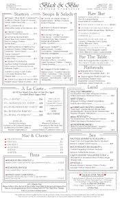 Filet Mignon Menu Black And Blue Seafood Seafood Chophouse In Huntington Village