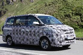mpv van bmw powered brilliance jinbei mpv spotted testing in the mountains