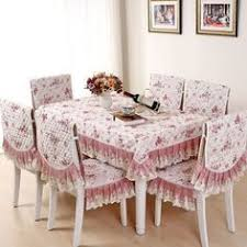 Dining Table Chair Covers Julliette U0026dream White Princess Lace Tablecloth Luxury Rose Dining