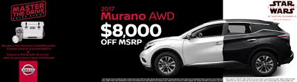 2017 nissan murano platinum midnight edition new specials on nissan models in aurora co tynan u0027s nissan