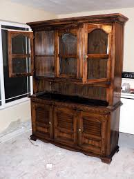 Black Dining Room Hutch by Kitchen Wooden Kitchen Furniture Hutch With Display Shelves