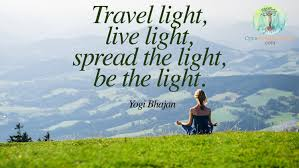 how to travel light images Travel light be light open mind body soul