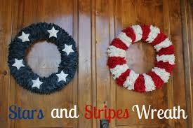 Diy Wreaths 5 Diy Wreaths The 4th Of July Home Stories A To Z